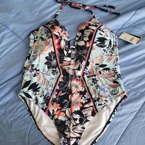 Kenneth Cole floral Swimsuit